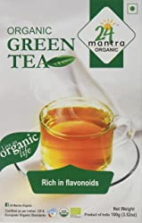24 Mantra Organic Green Tea, 100g