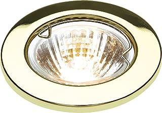 Knightsbridge - Lámpara de techo (metal, bajo voltaje), metal, Latón, 50 W