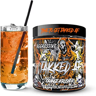 Aggressive Labz Jakked AF Hyper Aggressive High Stimulant Pre Workout Powder, Workout Harder and Longer with more Focus, F...