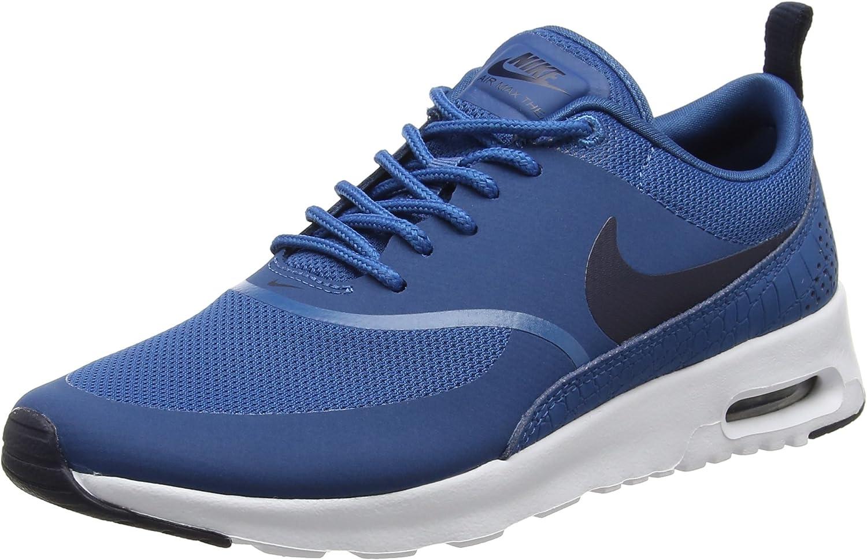 Nike kvinnor Brians Brillow -5533.S Air Air Air Max Thea Low -Top skor, svart  online mode shopping