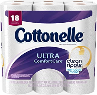 Cottonelle Ultra Comfort Care Big Roll Toilet Paper, 18 Count