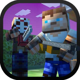 Block Battle Survival Shooter 3D - Haunted Hollow Mine Mini Game