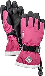 Hestra Ski Gloves for Kids: Waterproof C-Zone Cold Weather Winter Gloves
