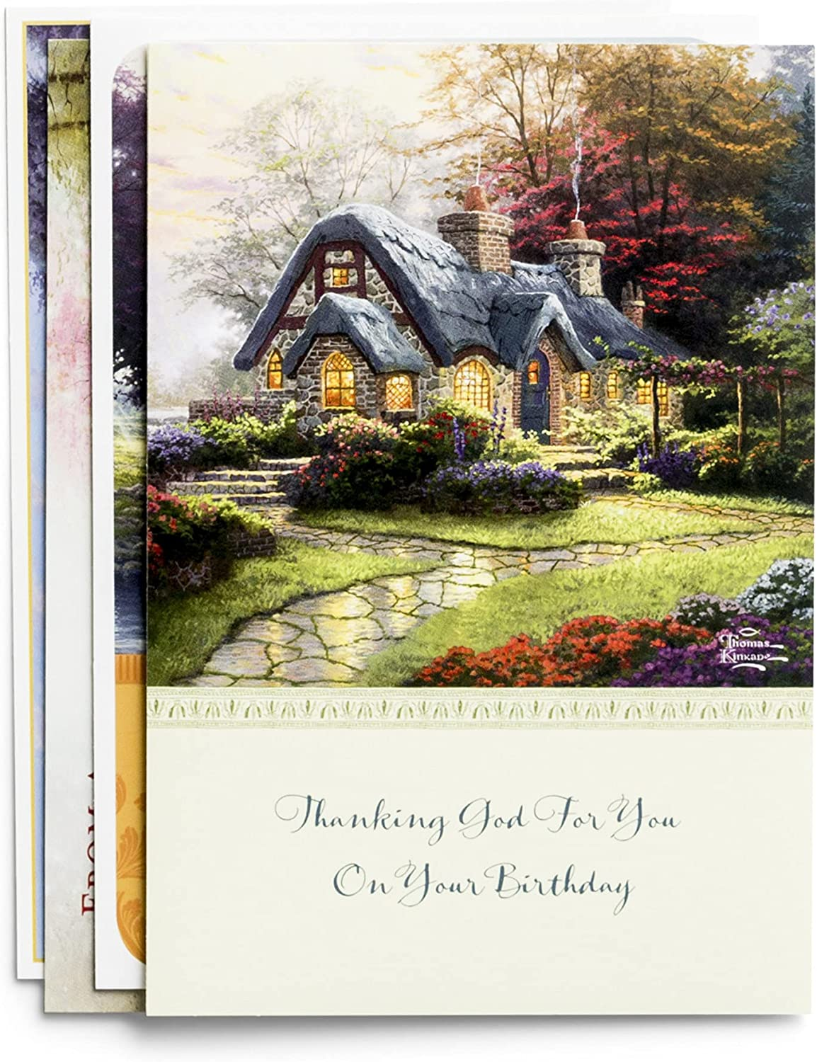 All 2021 spring and summer new Occasion - Inspirational Boxed Thomas Cards Charlotte Mall Kinkade Scener