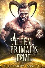 Alien Primal's Prize: A SciFi Romance (Precursors Book 1)