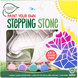 Best Creative Roots Paint Your Own Unicorn Stepping Stone by Horizon Group USA, Multicolor Review