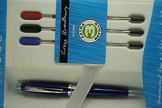 قلم حبر جاف أزرق وأحمر وأسود من كروس كاردينال