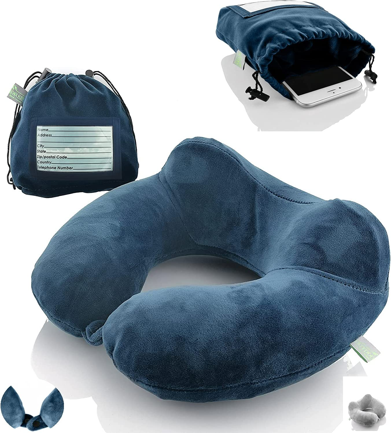 New products world's highest quality popular Inflatable Travel Neck Ranking TOP2 Pillow: Airplane For Extra-Soft Cushion.