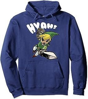 Zelda Link/'s Awakening Tribal Men/'s Hoodie Black