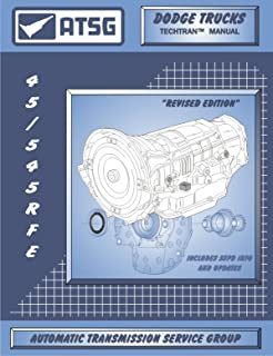 ATSG Dodge Trucks 45RFE 545RFE Techtran Transmission Rebuild Manual (1999 & Up)