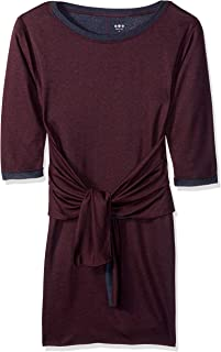 فستان وربطة عنق حريمي من Three Dots Ow5845 Colorblock Knit