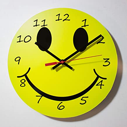 Amazon Com Emoji Clock Home Kitchen Handmade Products