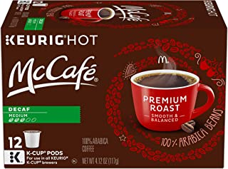 McCafe Premium Medium Roast Decaf Keurig K Cup Coffee Pods (12 Count)