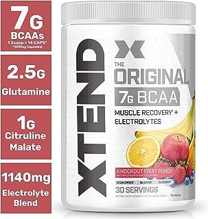 【海外直送品】Scivation Xtend BCAA 30杯分 (フルーツパンチ)