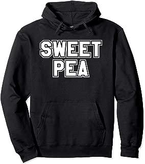 Sweet Pea Long Sleeve Pullover Hoodie