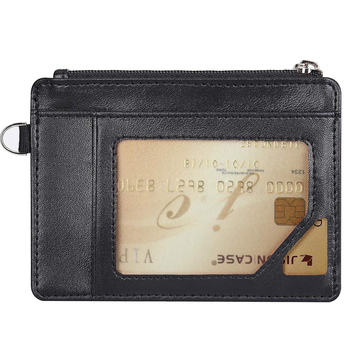 移行リスゲートカード入れ 免許証入れ パスケース 定期入れ 紙幣 ビジネス ファスナー 小銭入れ 薄型 大容量 財布 選べる3色