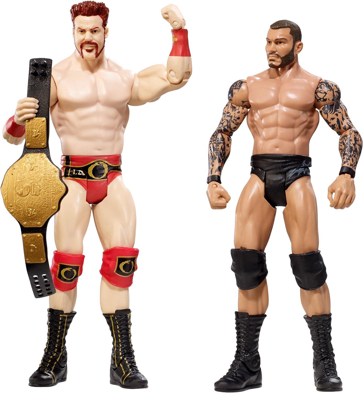 increíbles descuentos WWE Sheamus vs vs vs Randy Orton Battlepack Figuras  ventas en linea