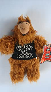 """Burger King Alf, 11"""" Plush Hand Puppet Doll Toy, Born to Rock"""