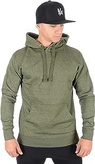 YoungLA Mens Fleece Pullover Hoodie Plain Hooded Sweatshirt 530