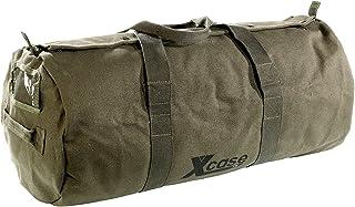 Xcase Canvas Sporttasche: Canvas-Sport- und Reisetasche mit Tragegriff, 70 Liter Schultertaschen