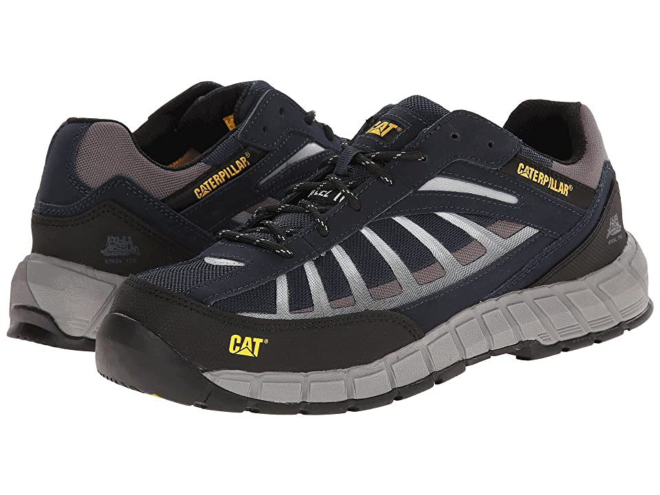 Caterpillar Infrastructure Steel Toe (Navy) Men