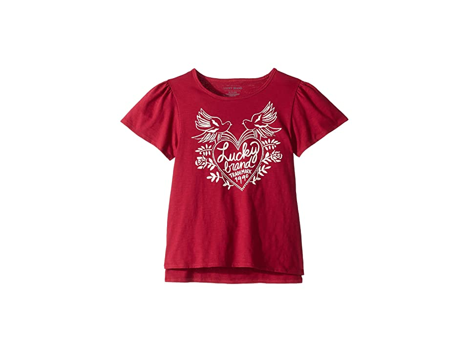 Lucky Brand Kids Kieron Tee (Big Kids) (Dutch Tulips) Girl's T Shirt