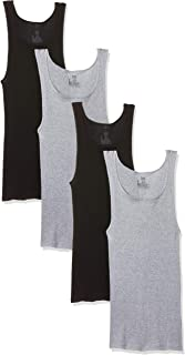 قميص رجالي Hanes Ultimate 4 قطع