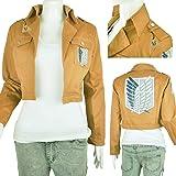 IDS Home Khaki Jacket Coat Cosplay Costumes Halloween Clothes, M