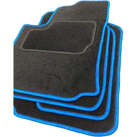 Rau Gummimatte Fussmatte Octagon Mit Blauer Bandeinfassung Fahrzeug Siehe Text Auto