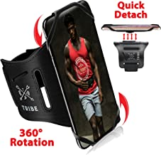 TRIBE Running Phone Holder Sports Armband. iPhone Cellphone Arm Band for Women & Men. 360°...