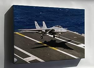 Canvas 24x36; Grumman F-14A Tomcat F-14 Vf-84 Jolly Rogers (Cvn-72)