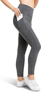BROOKLYN + JAX Yoga Leggings for Women - High Waist with Pockets - Running - Full or 7/8 Length