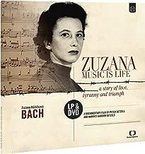 zuzana・ru-zitikoヴxa-/Music Is Life–Love Story, and win (Tyrants Music Is Life–A Story Of Love, Tyranny and Triumph   Zuzana ruzickova: Bach) [DVD + LP Imported] [Board] [Japanese Zones Commentary with]