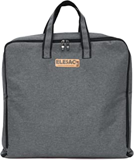 ELESAC Foldable Garment Suit Travel Bag with Pockets - Clothing Storage Bag for Business, Dance Dresses & College Students
