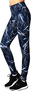 Neonysweets Womens Print Yoga Pants Active Workout Leggings