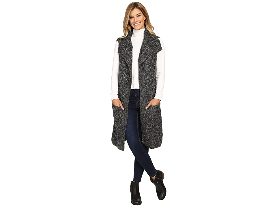 Prana Thalia Sweater Vest (Black) Women