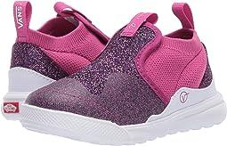 (Glitter Mesh) Purple/True White