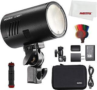 Godox AD100Pro AD100 PRO 100Ws TTL 2.4G HSS 1/8000s Pocket Flash Light with 7.2V/2600mAh Lithium Battery 360 Full Power Fl...
