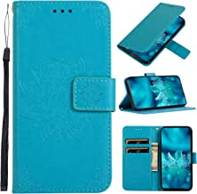 Leather Wallet Case for Xiaomi Redmi 6 6A Wallet Folding Flip Case with Kickstand Card Slots Magnetic Closure Protective Coverfor Xiaomi Redmi6 Redmi6A – TTCDD010617 Blue Estimated Price : £ 7,19