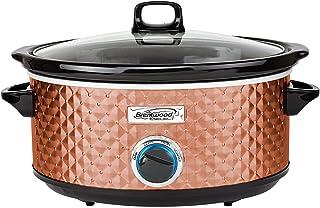 Brentwood Select SC-157C Slow Cooker, 7 Quart, Copper