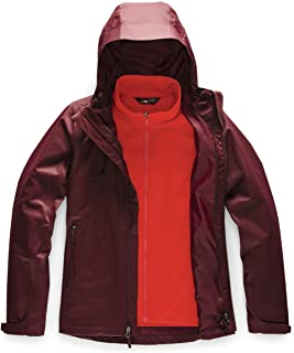 The North Face Women's Arrowood Triclimate Jacket, Deep Garnet Red/Deep Garnet Red, M