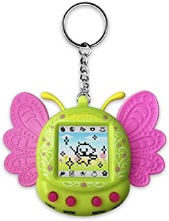 Giga Pets Pixie Virtual Pet Electronic Toy (Green), Nostalgic 90s Toy in Form, 8 Different Pixie Evolutions, Collect Eleme...