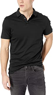 Calvin Klein Men's Liquid Touch Polo Solid with Uv...