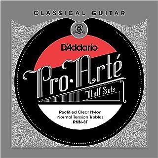 D'Addario RNN-3T Pro-Arte Rectified Clear Nylon Classical Guitar Half Set, Normal Tension