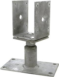 Connex Stolphållare justerbar 80–150 mm, varmförzinkad, HV4270