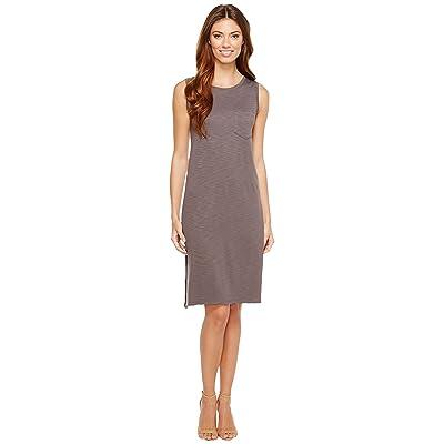 Lilla P Midi Pocket Tank Dress (Earth) Women