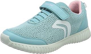 Geox J Waviness Girl C, Sneakers Basses Femme