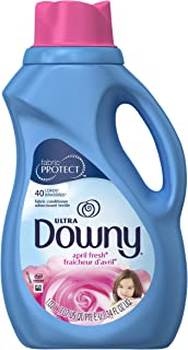 Downy Ultra Liquid Fabric Conditioner, April Fresh Scent, 1.02 L