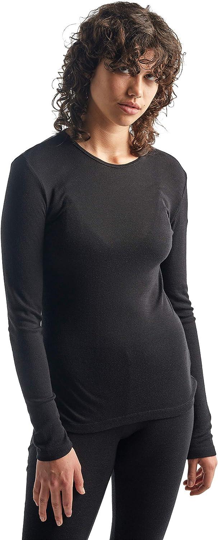 Icebreaker Merino Women's 175 Everyday Black All items in the store Crewe Long Sleeve specialty shop