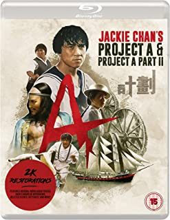 Jackie Chan's PROJECT A & PROJECT A PART II [Eureka Classics] 2-Disc Blu-ray edition [Reino Unido] [Blu-ray]